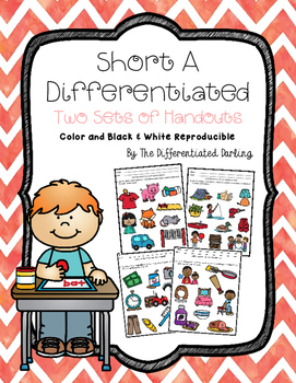 Short A Differentiated Handouts