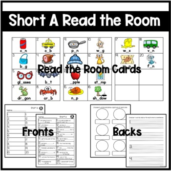 Short A Differentiated Read the Room