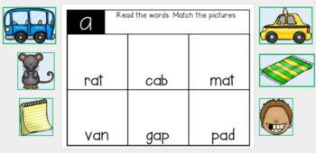 Short A Digital Resource for Google Classroom