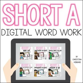 Short A Digital Word Work