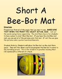 Short A, E, I , O and U Bee-Bot Mat Bundle