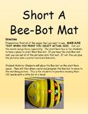 Short A, E, I , O and U Bee-Bot Mat Bundle