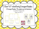Short A Emergent reader: Word families AN, AT, AP