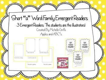 Short A Emergent reader: Word families AN, AT, AP