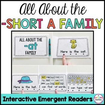 Short A Family Emergent Readers (Interactive)