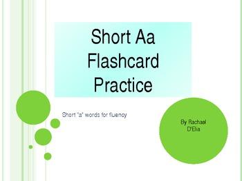 Short A Flashcard Practice