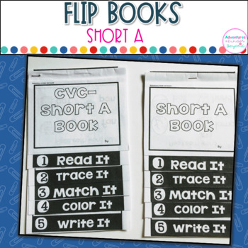 Short A Words- Flip Book