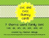 Short-A Fluency Cards