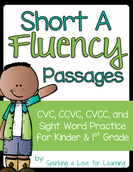 Short A Fluency Passages
