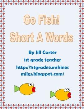 Short A Go Fish Card Game