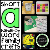 Short Vowel A Hands-On Word Family Crafts