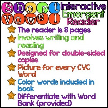 Short A Interactive Reader