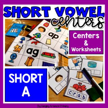 Short A Literacy Centers