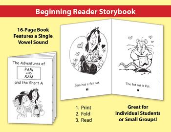 Short A Little Book: Beginning Reader Storybook