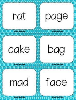 Short A & Long A (VCe) Kapow Literacy Center / Game