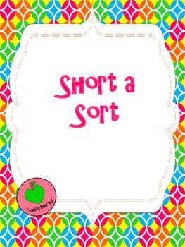 Short A, Long A Sort