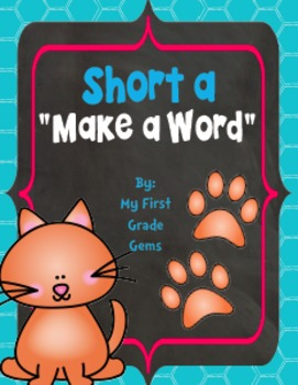 Short A Make a Word Freebie!