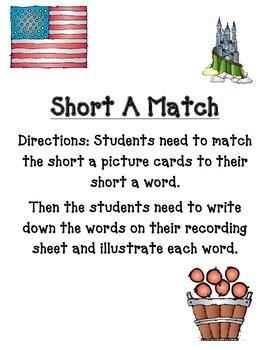 Short A Match