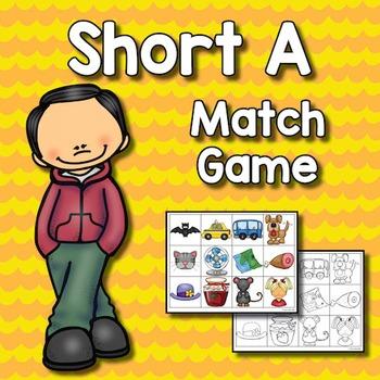 Short A Match Game