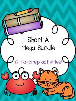 Short A Mega Bundle! [17 no-prep games and activities]
