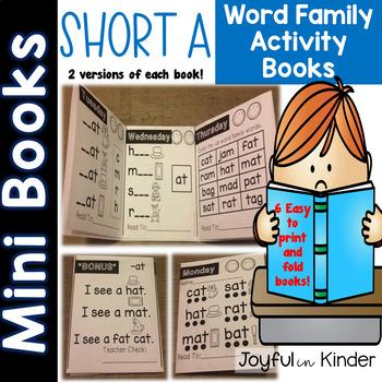 Short A Mini Books