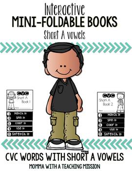 Short A Mini Flip Book Foldable