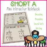 Short A Mini Interactive Notebook