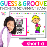 Short A Movement Game for Google (TM) and PowerPoint | Dis