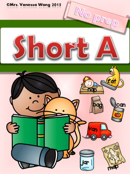 Short A  Phonics Set