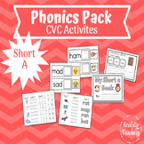 Short A Phonics Activities with CVC Words