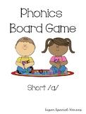 Short A Phonics Board Game