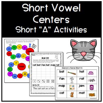 Short A Phonics Centers