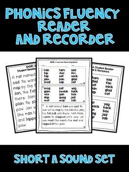 Short A - Phonics Fluency Assessment