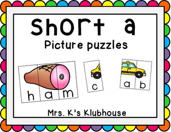 Short A Picture Puzzle