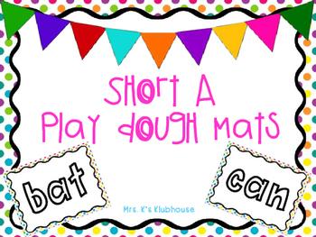 Short A Play-Doh Mats freebie