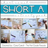 Short Vowels CVC Word Family Activities (Short Vowel A)