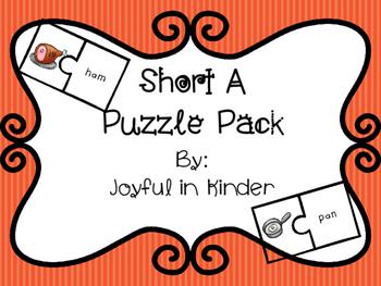 Short A Puzzle Pack