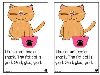 Short A Reader: The Fat Cat
