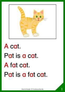 Short A Reader: Pat the Cat