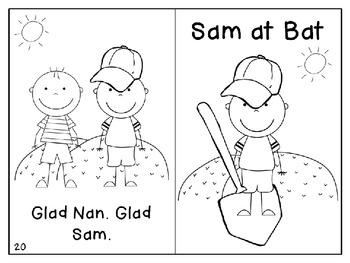 Short A Reader2- Sam at Bat
