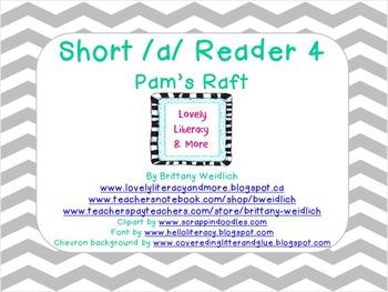 Short A Reader4- Pat's Raft