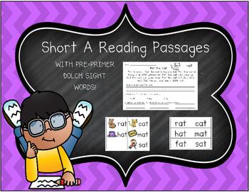 Short Vowel A Reading Passages
