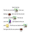 Short A Rebus - Sam's Fat Cat