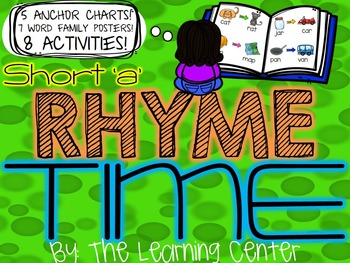 Short 'A' Rhyme Time