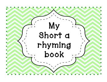 Short A Rhyming Book (Word Families)