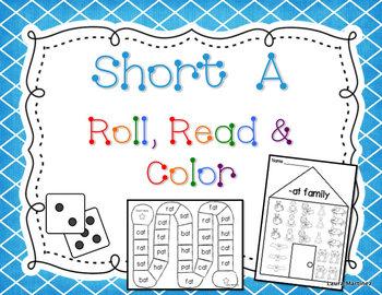 Short A Roll, Read, Color
