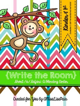 {Write the Room Freebie: Short /a/ Safari}