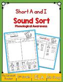 Short A & Short I Sound Sorting!
