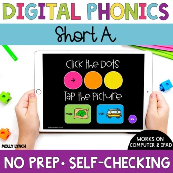 Short A Sound Tappers - Digital Phonics Learning {PowerPoint Games}
