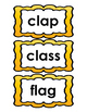 Short A Spelling List and Cards (List 1 and 2 Differentiated)